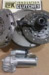 JAGUAR X TYPE 2.0 D 6 SPEED LUK DUAL MASS FLYWHEEL,STARTER, CLUTCH, CSC